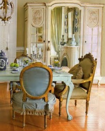 Dining Room Gustavian Style