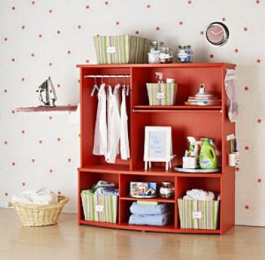 after laundry station via bhg Upcycled Cottage Style Furniture