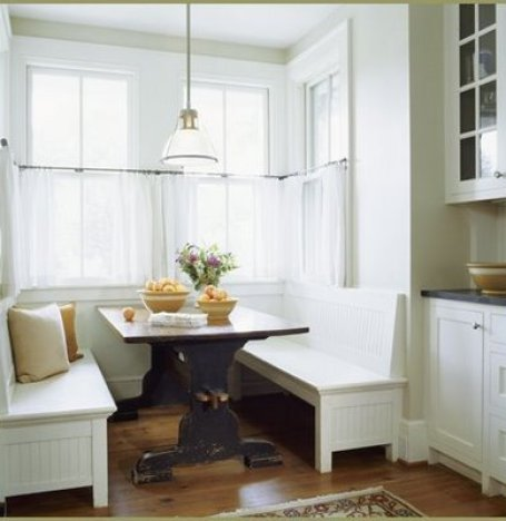 BanquetteSeating via casabellaproject Banquette Bonanza & Free Virtual Design!
