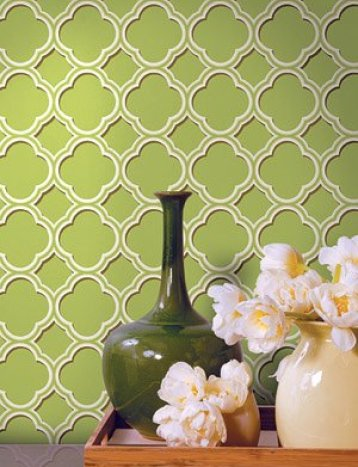 quatrefoil wallpaper via findingpretty wordpress Get Lucky with a Little Quatrefoil