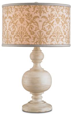 Elise Table Lamp GV ES via wehearteheart blogspot Limed Wood:  Hot, Hot, Hot