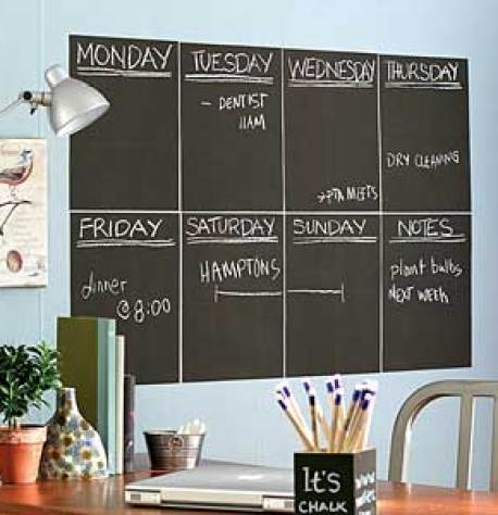 home office chalkboard ideas via patriotic painting Dont Use Chalkboard and Magnetic Paint Until You Read This!