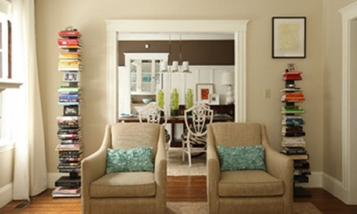 array bookcase via stylecarrot When The Books are Stacked in Your Favor