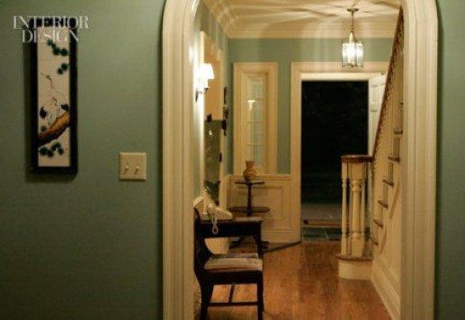 don draper foyer wythe blue Nashville Color Expert Announces 2012 Color of the Year: Wythe Blue