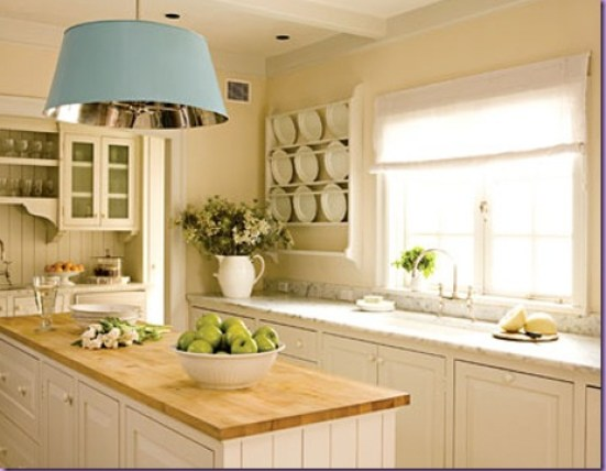 Small White Kitchen Designs with pendant via siamhousedesign Why White Kitchen Cabinets are The Right Choice