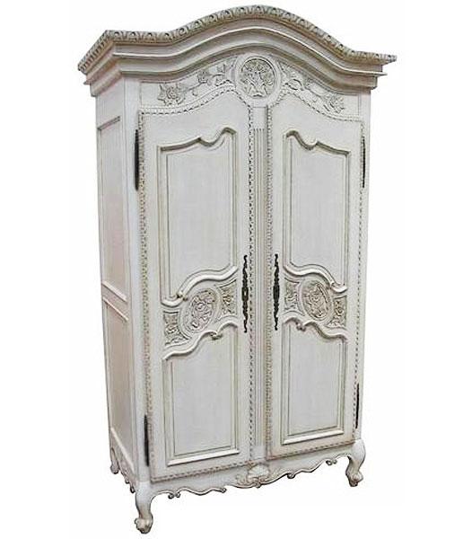 white armoire via sososachse blogspot Closet Case
