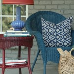 painted wicker porch furniture