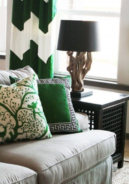 emerald pillows1 The Most On Trend Family of the Year