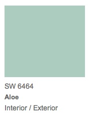 SW6464 Aloe Sherwin Williams 2013 Color of the Year