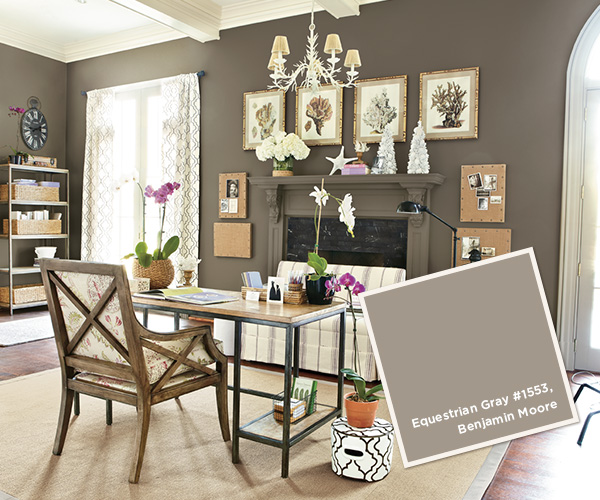 Equestrian Gray 1553 Ballard Designs Favorite Paint Colors