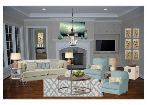 OB Staged Living Room1 600x429  Home Staging Advice from 10 Experts