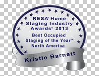 home staging award Kristie Barnett