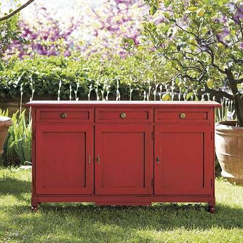 Make A Dining Room Sideboard Out of a Dresser