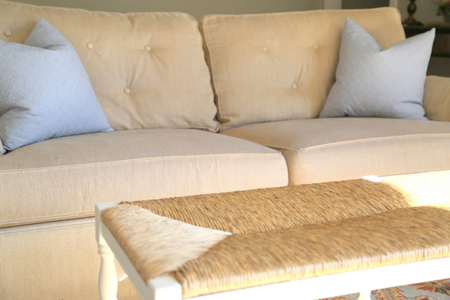 Quick Fix For Tired Sofa Cushions The Decorologist
