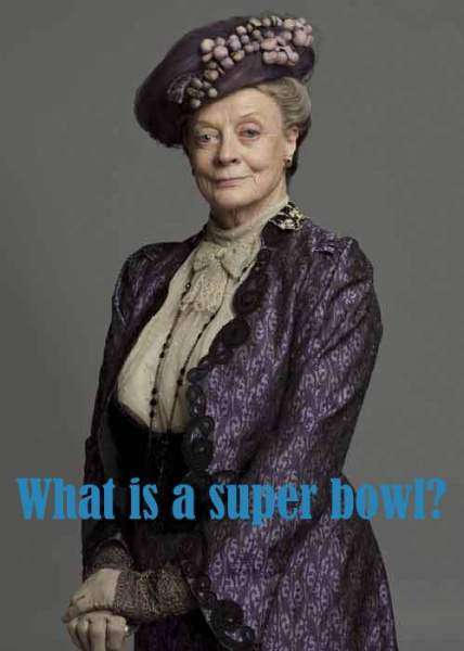 DowntonAbbeyS1 DowagerCountessViolet OP 428x600 Why the Downton Abbey Premiere is MY Superbowl