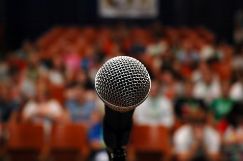 public speaking Psychological Staging in Vegas