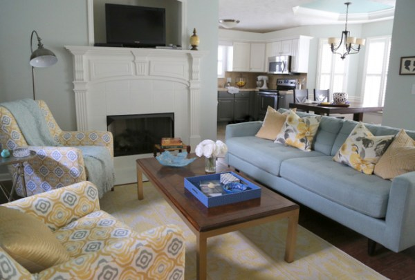 7O3A6947done 600x405 Allisons Living Room & Kitchen Makeover   The Final Reveal