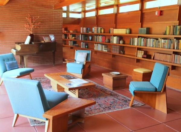 7O3A9028 600x438 Frank Lloyd Wrights Rosenbaum House Tour