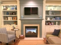 How to Make Your TV Blend In Over the Fireplace - The ...