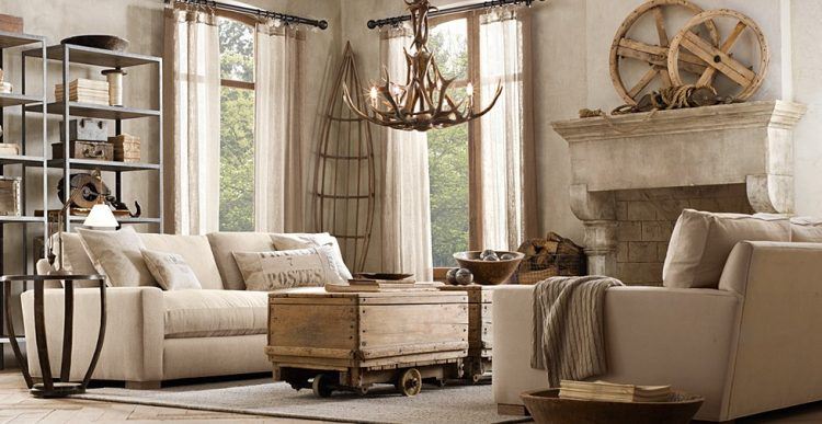 Deco Salon Campagne The 2016 Restoration Hardware Reboot - More Gold, Less