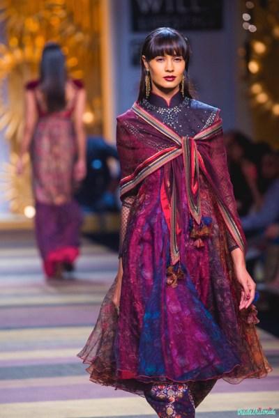 Tarun Tahiliani at Wills Lifestyle India Fashion Week A/W ...