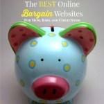 The BEST Online Bargain Shopping Websites for Mamas