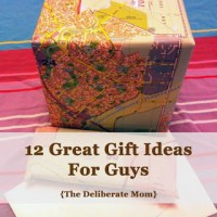 12 Great Gift Ideas For Guys