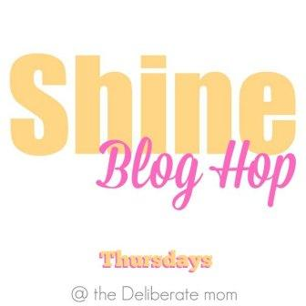 Shine Blog Hop #21 - Come link up your best posts and SHINE!