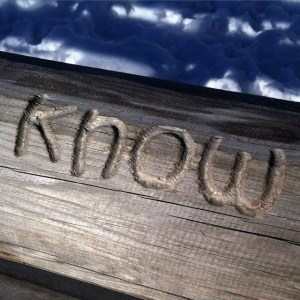 Quotes carved in wood. #know #pretty #love #iphoneonly #nofilters