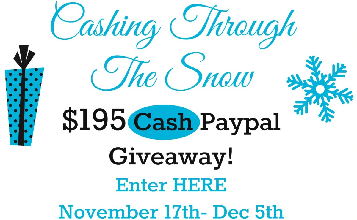 Cashing Through The Snow (Giveaway)