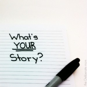 What's YOUR story? We all have a story to tell. Have you thought about yours? #inspiration #motivation