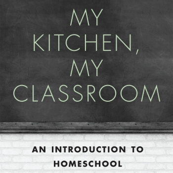 The eBook, My Kitchen, My Classroom: An Introduction to Homeschool is full of helpful information for the new homeschooler. The book addresses the doubts which may keep parents from starting homeschool, provides useful tips, organizing strategies, and even gives suggestions on how to handle obstacles to homeschooling!