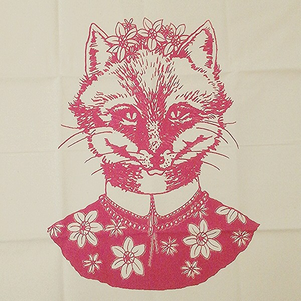 Natty tea towel