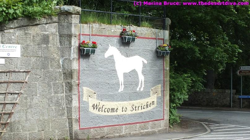 Strichen folk are very friendly!