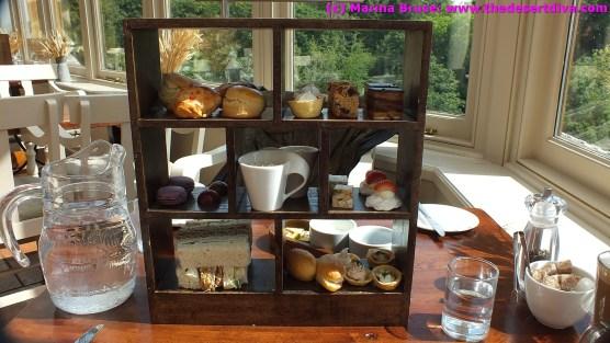 High Tea at Dalhousie Castle