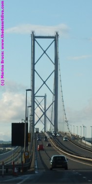 Probably the last time I will cross the Forth Road Bridge - next year the Queensferry Crossing will open