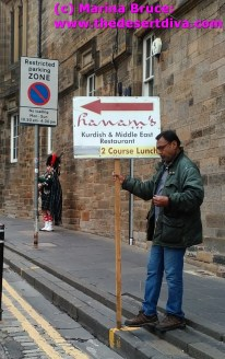 It could only be in Edinburgh