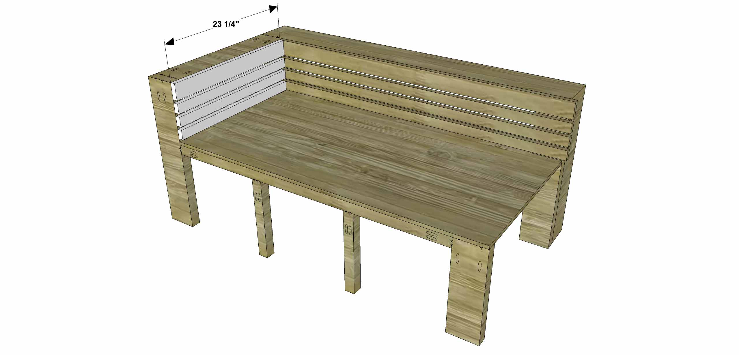 Using Outdoor Furniture Indoors Free Diy Furniture Plans How To Build An Indoor Outdoor