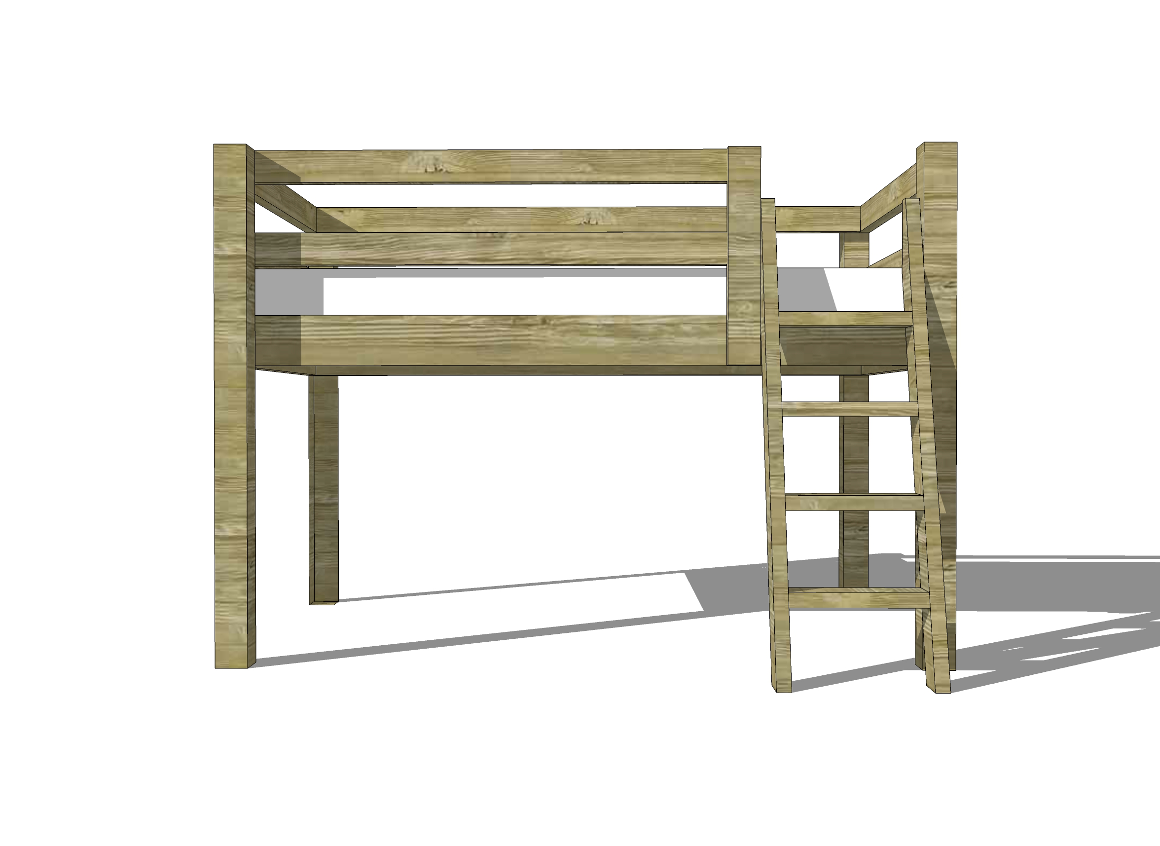 Loft Bunk Beds Australia Free Woodworking Plans To Build A Twin Low Loft Bunk Bed