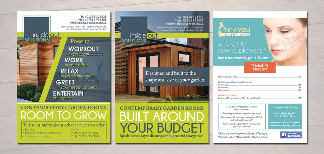 Flyer \ poster design - The Design Hive - contemporary flyer