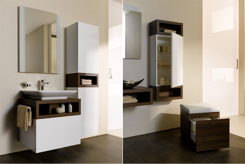 Bathroom Storage Furniture Modular Home Bathroom Series By Toto