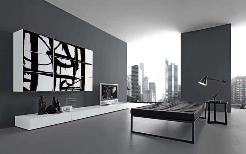 Meuble Tv Design Led 50 Modern Living Room Furniture Design Pictures By Presotto