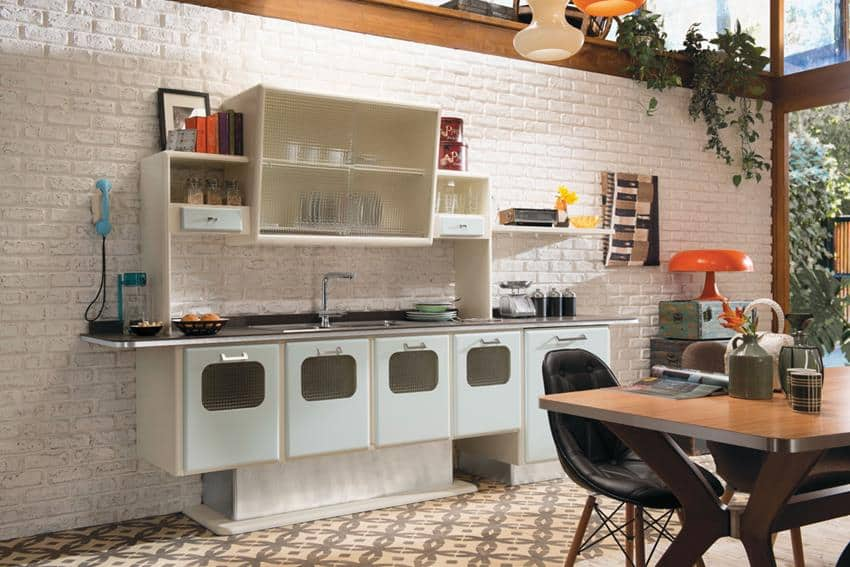 saint-louis-retro-kitchen-6jpg (850×567) Enterijer Pinterest