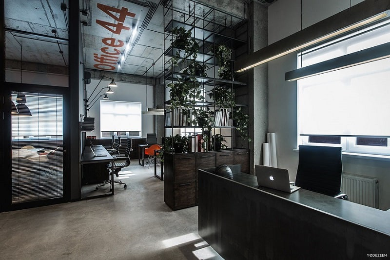 Stoere Kast Cool Offices In Industrial Style