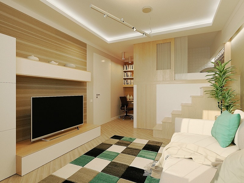 Kleine Wohnung Small And Comfortable 28-square Meter Home In Russia