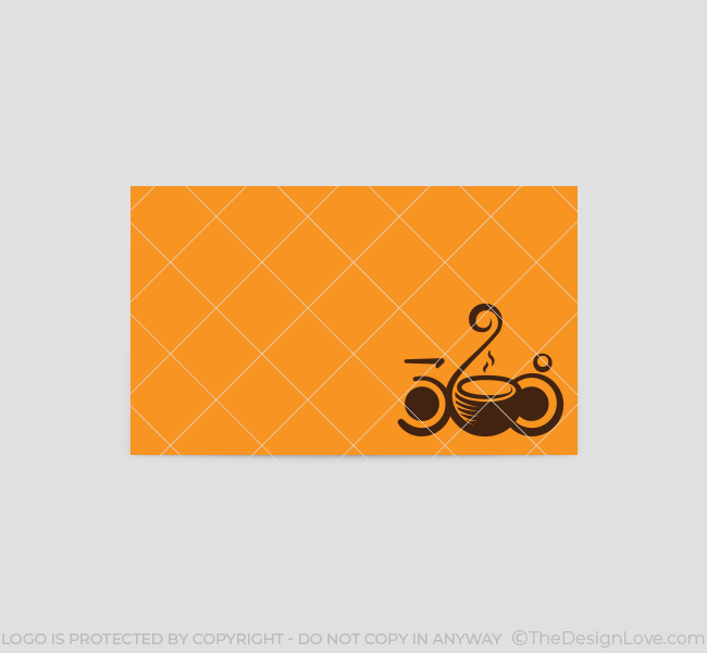 360 Cafe Logo  Business Card Template - The Design Love