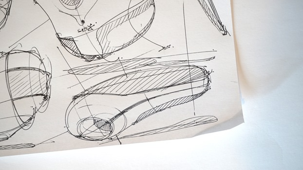 Draw product design - Random shapes - The Design Sketchbook b
