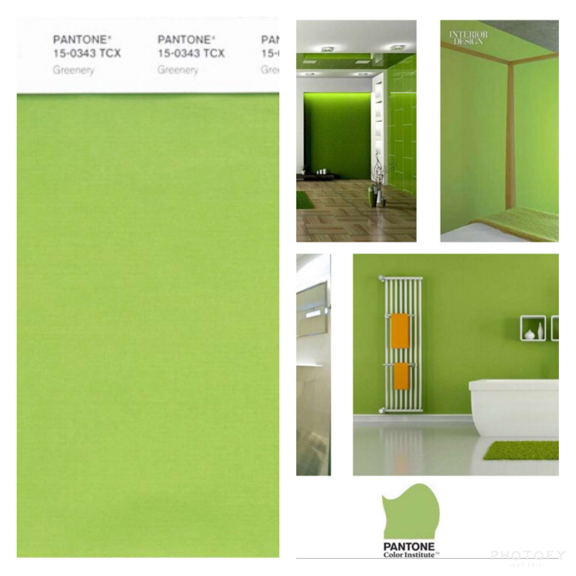 Pantone Greenery 2017 Color Of The Year Has Home Interiors Going Green