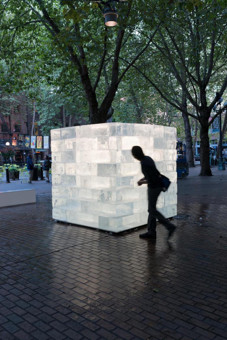 Ice Cube by Olsen Kundig as part of Seattle Design Festival. Photo: Eirik Johnson