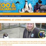 volunteering at living coasts